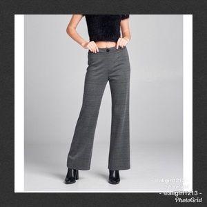 🆕 Checkered Wide Leg Pant
